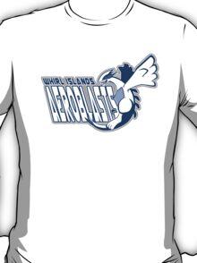 Whirl Islands Aeroblasts: Lugia Sport Logo T-Shirt