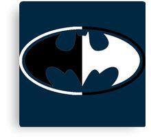 Batman Good and Evil Canvas Print