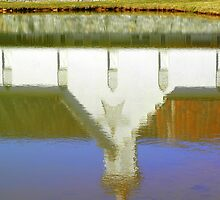 Reflection - Star Barn - Middletown, PA by Corkle