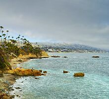 Laguna Beach Coastline by Glenn McCarthy