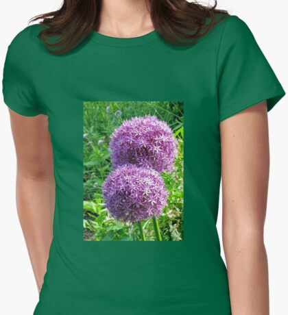 Ornamental Onions Womens Fitted T-Shirt