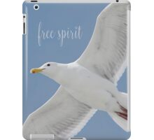 Gull with Inspirational Saying iPad Case/Skin