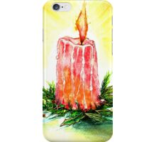 Christmas Candlelight iPhone Case/Skin