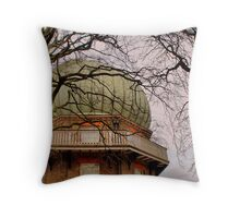 The Planetarium Building, Greenwich Throw Pillow