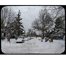 Brooklyn Snow Photographic Print