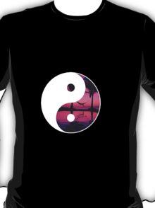 yin and yang sunset T-Shirt