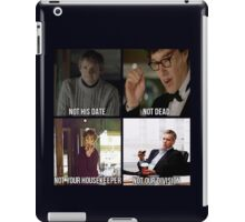 Sherlock BBC Cast iPad Case/Skin