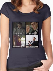 Sherlock BBC Cast Women's Fitted Scoop T-Shirt