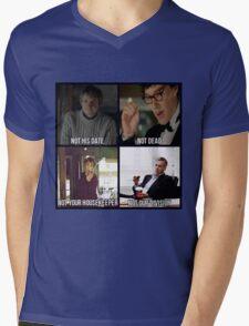 Sherlock BBC Cast Mens V-Neck T-Shirt
