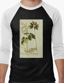 Plantarum Indigenarum et Exoticarum - Lukas Hochenleitter und Kompagnie 1788 - 383 Men's Baseball ¾ T-Shirt