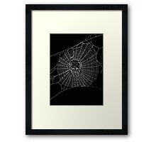 A Criminal Web Framed Print