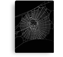A Criminal Web Canvas Print