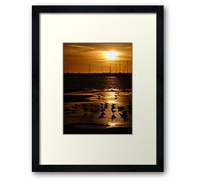 Gilded Shallows Framed Print