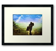 PASSIONATELY YOURS Framed Print