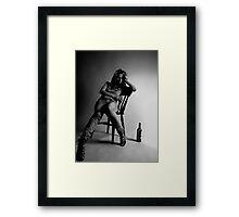 seeking oblivion Framed Print