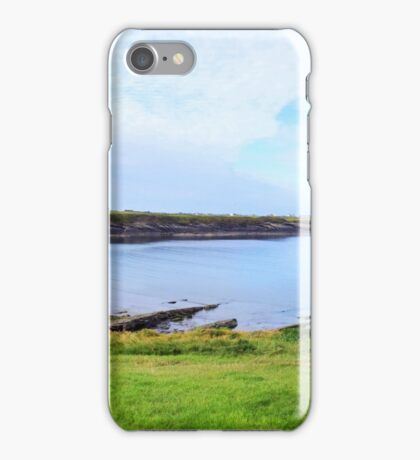 White Strand Beach - Clare, Ireland iPhone Case/Skin