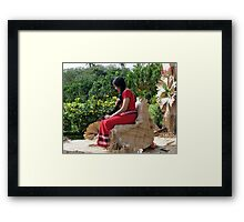 Samoa's Beauty Framed Print
