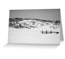 Lonely Jetty Greeting Card
