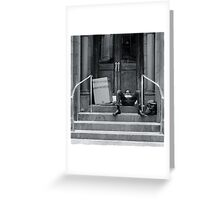 Down not out, New York City Greeting Card
