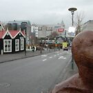 Reykjavik Statue  by maxwell78