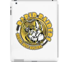 RAPID RAIDERS - DIGITAL DUST BUSTERS iPad Case/Skin