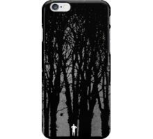 Edward Snowden in the woods iPhone Case/Skin