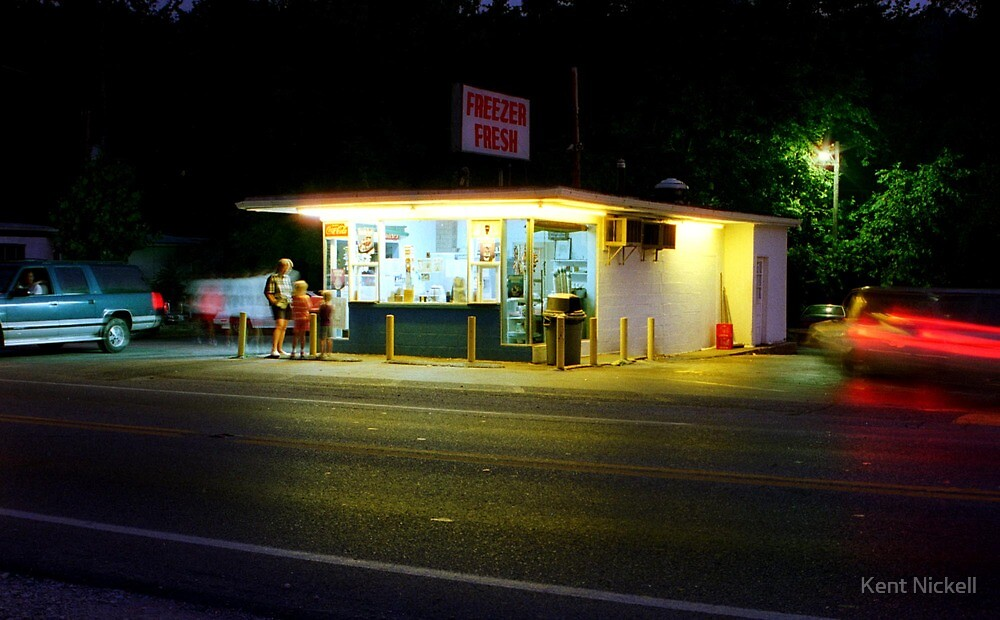 Freezer Fresh at Night by Kent Nickell
