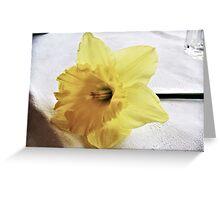flower, sleeping Greeting Card