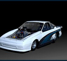 Ford Mustang Dragster by TeeMack