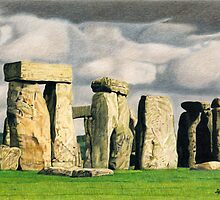 Stonehenge by Anne Pearson