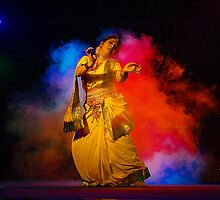 Contemporary Indian Classical Dance-Mamata Shankar Ballet Troupe  by Mukesh Srivastava