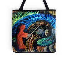 Shaman vs. Wizard Tote Bag