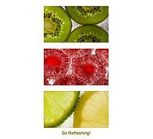 So Refreshing 3 Photographic Print