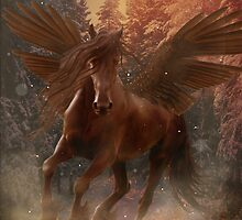 Pegasus brown by Dawnsky2