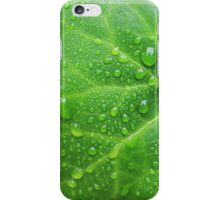 Leafy Rain Drops iPhone Case/Skin