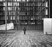 Lonely figure by Tomasz Juszczak