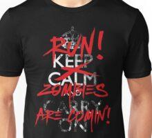 Zombies Keep Calm Parody T Shirt Unisex T-Shirt