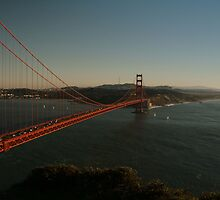 Golden Gate Bridge One by Alberta Brown Buller