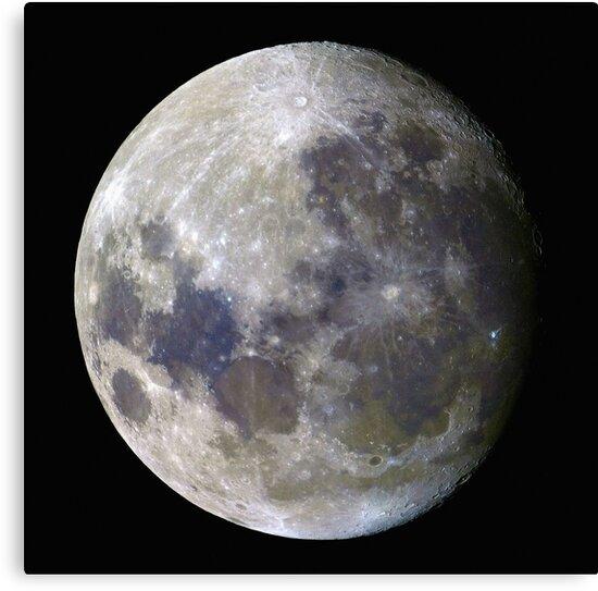 Remote Sensing Moon by S-n-D