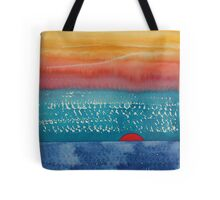 A New Day Dawns original painting Tote Bag