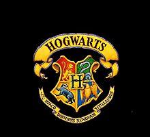 Hogwarts Crest by Luvmarksthespot