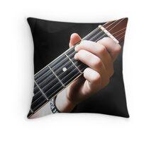 Frets Throw Pillow