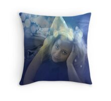 Lazy Mornings With You Throw Pillow
