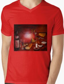 A Dinner Fantasy A La Francais Mens V-Neck T-Shirt
