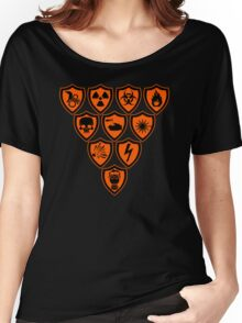 Warning signs Women's Relaxed Fit T-Shirt