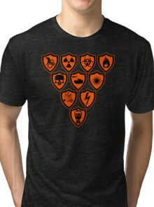 Warning signs Tri-blend T-Shirt