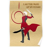 Archer - I am the bone of my sword Poster