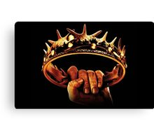 game of thrones crown Canvas Print