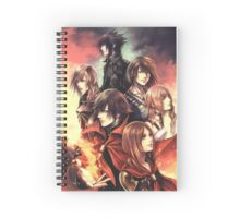 Characters from Final Fantasy's Fabula Nova Crystallis Spiral Notebook