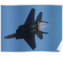 Strike Eagle Afterburner Poster